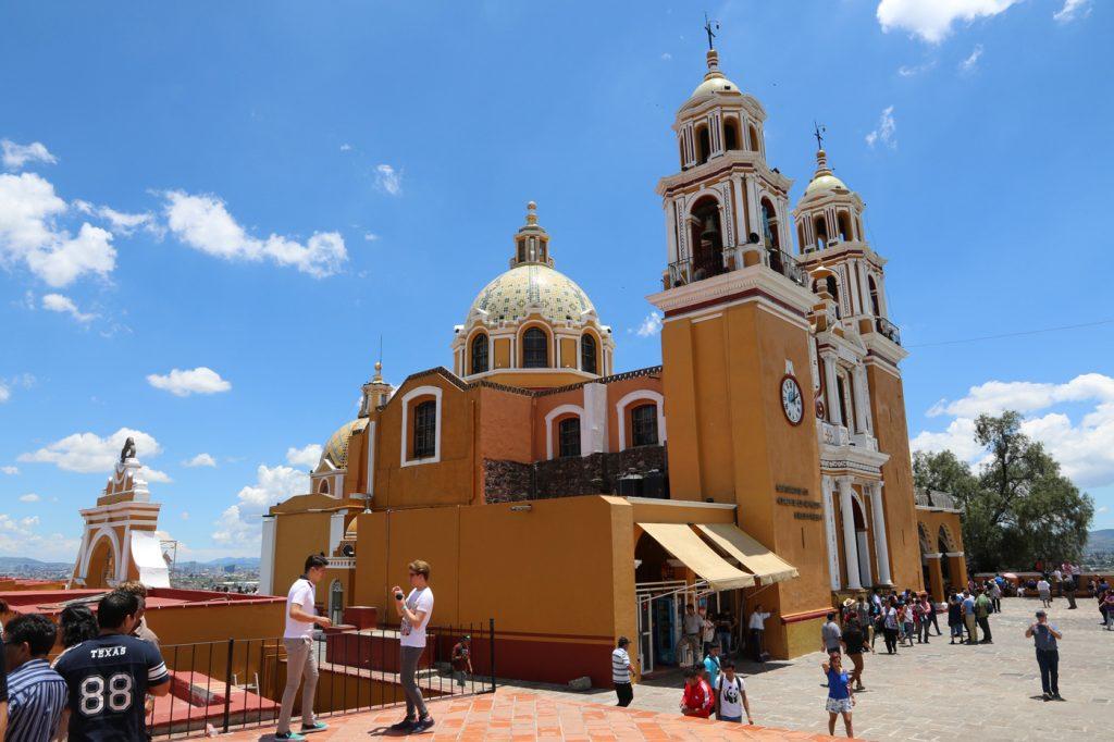 Die Kirche in Cholula.