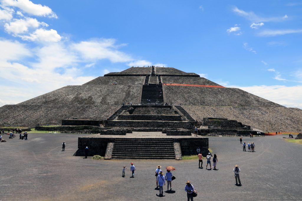 Teotihuacan Sonnenpyramide.